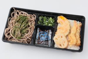 天丼そばセット/370円(税込)