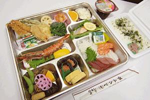 幕の内210/2,100円(税込)ご飯・みそ汁付き(茶碗蒸し+100円)